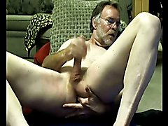 This hot and bearded daddy gets off for others on cam. Listen to his moans as he strokes hi...