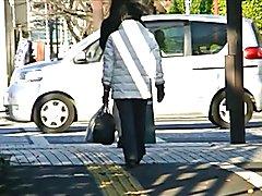 Japanese Crossdresser Pantyhose Public Exhibitionism