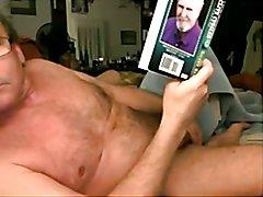 old man big cock cum