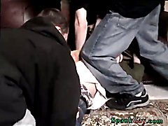 An Orgy Of Boy Spanking! Real gay spanked frat An Orgy Of Boy Spanking!
