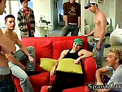 A Gang Spank For Ethan! Shaved men and video on how to give oral gay sex to your man A Gang ...