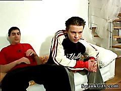 Spanked & Fucked Good! Gay movies young male spank and spanked by the coach videos first tim...