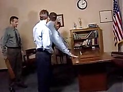 Several young men from the school are in the principal's office about to have an orgy. He wa...