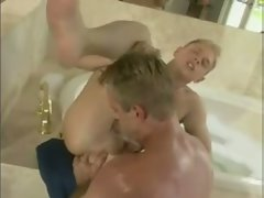 hot young blonde seduces his brother`s best friend David.