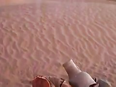 hot Arab sex in the desert