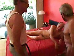 They're all in their 60s and they make great threesome porn with a blowjob and some very hot...