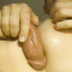 Self Inflicted Anal Creampie