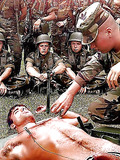 Tortured in the army