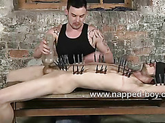 Sean Saint pegged and stroked by Adam