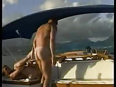 Gay sex on a boat