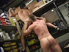 Bear fucks his tight ass