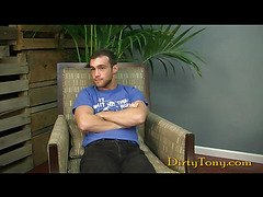 Casting couch jerk off session