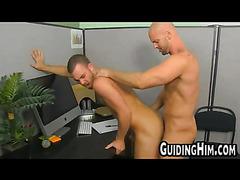 Bald guy fucking stud