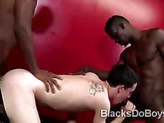 Cody Bristols sweet gay ass gets brutally stretched by