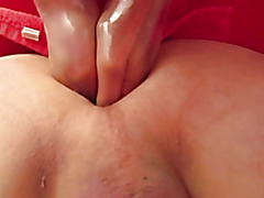 Huge extreme fisting, double fist, cumshot, huge load