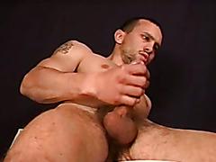 Bulgarian jerk off and cum