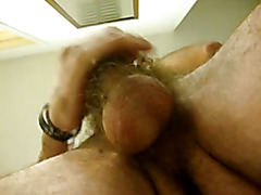 Hairy balls in your face and my tasty cum spurting