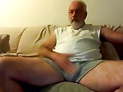 playing with my big dick.