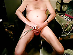 sounding and fucking my peehole