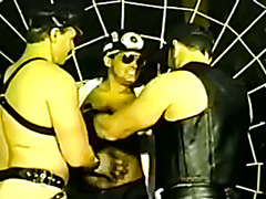 Fireman Busted by Leather Men