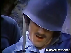 Vintage Gay Military Mutual Masturbation