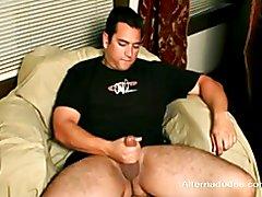 Fratboy Surfer Drinks His Own Cum