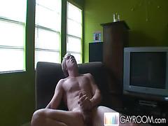 He makes a masturbation video
