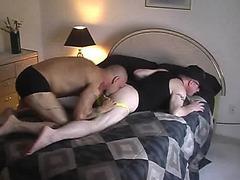 Gay amateurs explore sex