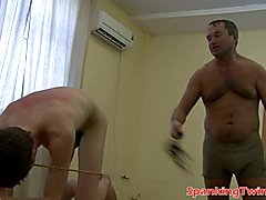 Cute gay must receive masters lusty batting in order to delight his horny senses in wild bds...