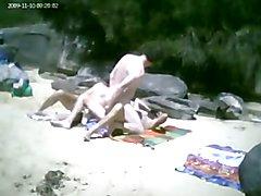 Group Beach Fuck