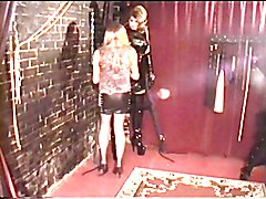 Alison and Mistress Melanie - Rope Bondage and Thigh Boots