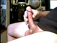 Chair Cock Stroking Cum For You!