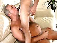 Old man fucked by young stud