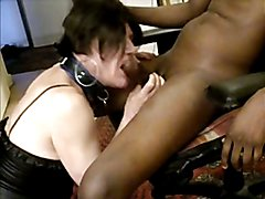 Slut tranny fucked hard by BBC
