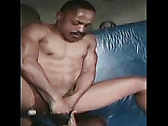Muscular black guys fuck hard