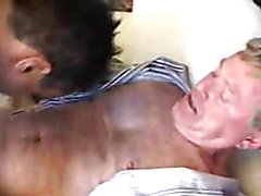 They meet in the hotel room because things are about to get naughty. The gay mature wants so...