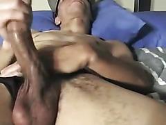 Dildo anal and masturbation