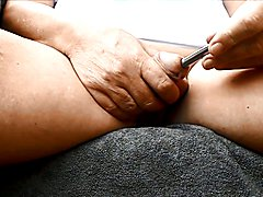 Sounding my peehole - Urethra insertions