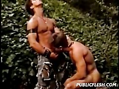 Classic Gay Muscles Hunks Hardcore  scene 4