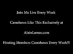 Alain Lamas hot latino jock is in the shower gettting