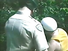Bearded CHP Cop gets Sucked