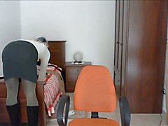 Pantyhose encasement breathplay