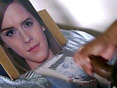 Cum tribute 02 to Emma Watson