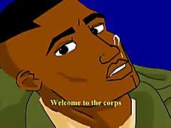 Gay Military Cartoon