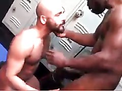Black Daddy Fucks White Guy  scene 2