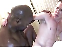 Black Daddy Fucks White Guy  scene 3