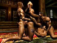 3D Horny Cartoon  scene 3