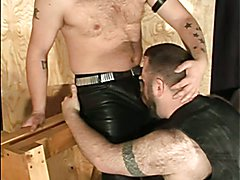 Guys in latex getting fuck stick in assholes