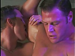Muscle Cop Threesome -