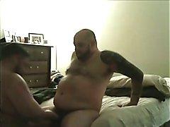 Married Tatted Bear Breeds Ass-Eating Bear